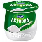 Йогурт АКТИВИА термостатный натуральный, 170г