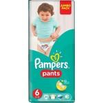 Трусики PAMPERS 6 (16+ кг), 44шт