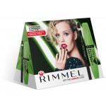 Подарочный набор RIMMEL: тушь+карандаш для глаз
