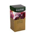 Чай черный с ароматом фруктов и душистых трав GREENFIELD SPRING MELODY, 37,5 г