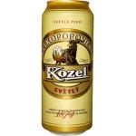 Пиво светлое VELKOPOPOVICKY KOZEL в упаковке, 6х0,5л
