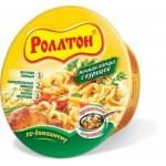 Лапша РОЛЛТОН По-домашнему куриная в тарелке,  90 г