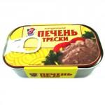 Печень трески 5 МОРЕЙ, 120г