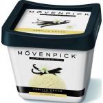 Мороженое пломбир MOVENPICK Ваниль контейнер, 450мл