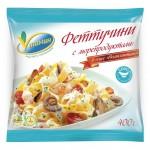 Феттучини VИТАМИН с морепродуктами в соусе Неаполитано, 400г