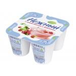 Йогурт НЕЖНЫЙ с соком малины и земляники 1,2%, 100г