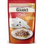 Корм для кошек с курицей GOURMET Mon Petit с лососем, 50г