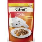 Корм для кошек с курицей GOURMET Mon Petit с курицей, 50г