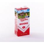 Молоко ДОМИК В ДЕРЕВНЕ стерилизованное 6%, 950г
