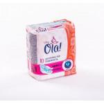 Прокладки OLA! женские гигиенические ультратонкие Normal с шелковистой поверхностью, 8шт