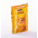 Корм для кошек с курицей FRISKIES, 85 г