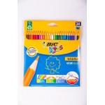 Карандаши BIC Kids, 24 цвета