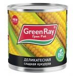Кукуруза сладкая GREEN RAY, 425мл
