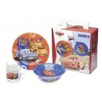 Набор детской посуды LUMINARC Тачки 3пр