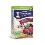 Каша овсяная с молоком NESTLE Быстров Ассорти (клубника, малина, лесные ягоды), не требующая варки, 6x40 г
