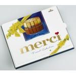 Конфеты шоколадные MERCI Молочный Шоколад, 250г