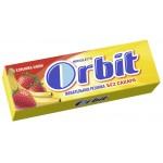 Жевательная резинка ORBIT Клубника-банан, 13,6г