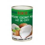 Молоко кокосовое FOCO Органическое, 0,4л