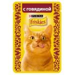 Корм для кошек FRISKIES с говядиной, 85 г