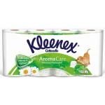Туалетная бумага KLEENEX Нежная ромашка 3-слойная, 8 рулонов