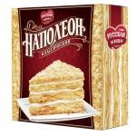 Торт РУССКАЯ НИВА Наполеон классический, 450 г