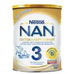 Детское молочко NESTLE Nan гипоаллергенное с 12 месяцев, 400г