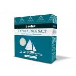 Соль морская SETRA мелкая йодированная, 500г