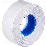 Этикет-лента волна белая, 22x12мм