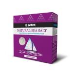 Соль морская SETRA крупная йодированная, 500г