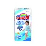 Трусики-подгузники GOON для мальчиков XL 5 (12-20 кг), 38 шт