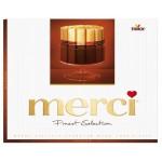 Конфеты шоколадные MERCI Горький Шоколад, 250г