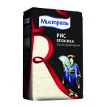Рис Японика МИСТРАЛЬ белый среднезерный, 500 г