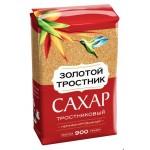 Сахар ЗОЛОТОЙ ТРОСТНИК тростниковый нерафинированный, 900 г