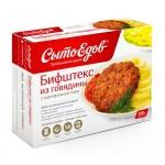 Бифштекс СЫТОЕДОВ из говядины с картофельным пюре, 350г
