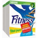 Готовый завтрак NESTLE Fitness, 250+250г