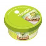 Сыр творожный VIOLETTE с огурцами и зеленью, 140 г