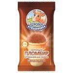Мороженое пломбир КОРОВКА ИЗ КОРЕНОВКИ шоколад вафельный стаканчик, 100г