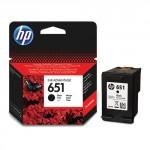 Картридж струйный HP 651 черный