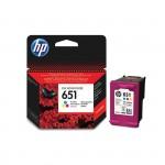 Картридж струйный HP 651 Tri-Colour