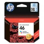 Картридж струйный HP 46 (CZ638AE) Цветной