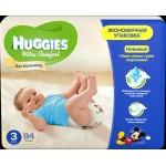Подгузники для мальчиков HUGGIES Ultra Comfort 3 (5-9кг), 94шт