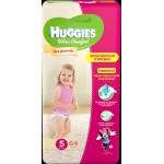Подгузники для девочек HUGGIES Ultra Comfort 5 (12-22кг), 64шт