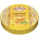 Сыр плавленый PRESIDENT Маасдам 8 треугольников, 140 г
