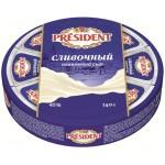 Сыр плавленый PRESIDENT сливочный 8 треугольников, 140 г