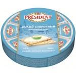 Сыр плавленый PRESIDENT Легкий 8 треугольников, 140 г