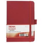 Записная книжка SIGMA A5 клетка красная