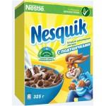 Готовый завтрак NESQUIK шоколадный с подушечками, 325г