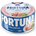 Филе тунца FORTUNA в собственном соку, 185 г