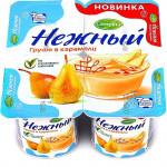 Йогуртный продукт НЕЖНЫЙ 1,2% груша в карамели, 100г