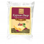 Сыр полутвердый КАРЛОВ ДВОР с ароматом топленого молока фасованный 45%, 300г